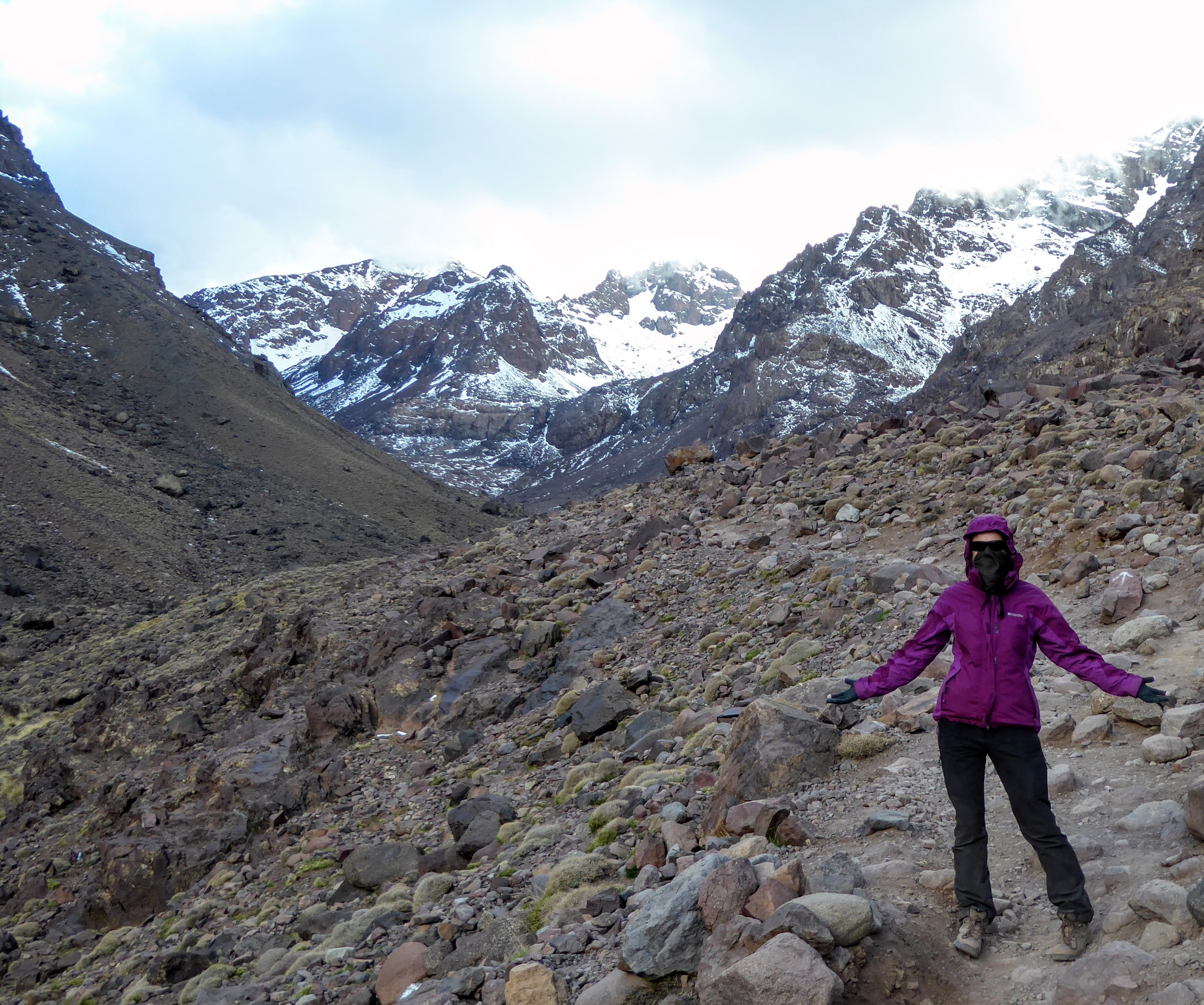 Toubkal, the mountain which beat me!