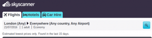 skyscanner flexible