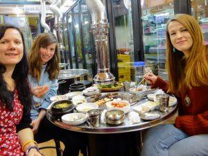 vegetarian food in south korea