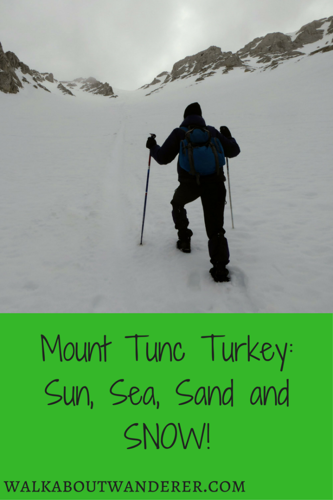 Mount Tunc Turkey: Sun, Sea, Sand and SNOW! by Walkabout Wanderer