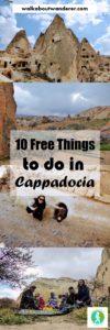 10 free things to do in Cappadocia Turkey