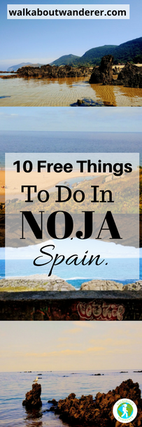 10 Free things to do in Noja, Spain by Walkabout Wanderer Keywords Tourist guide Noja Cantabria Solo female travel blogger