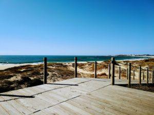 boardwalk Vila Nova de Gaia and Espinho Portugal