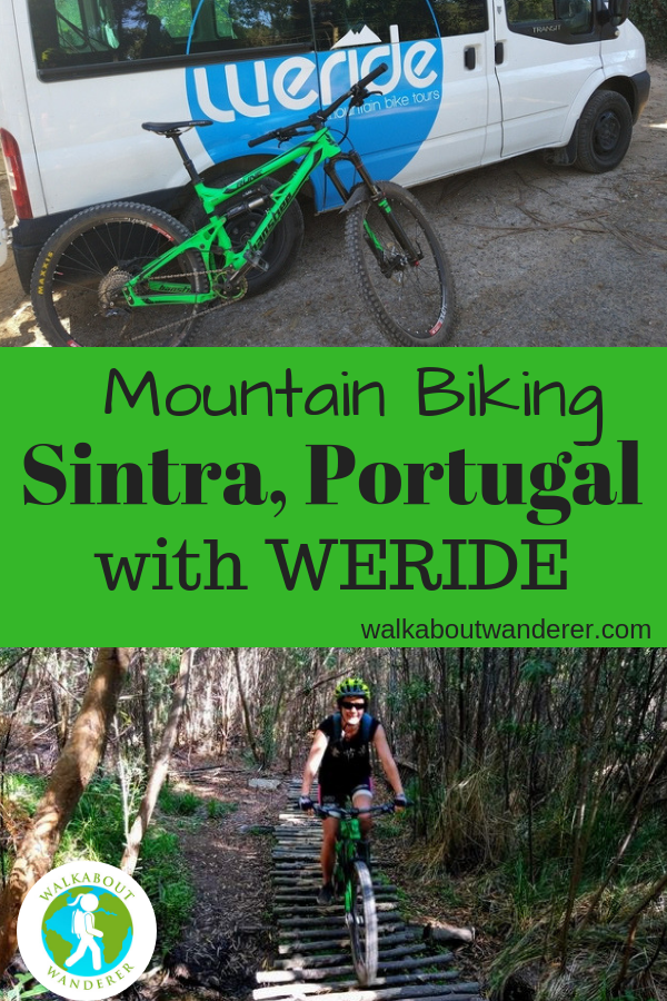 Mountain biking in Sintra, Lisbon, Portugal with WERIDE by Walkabout Wanderer