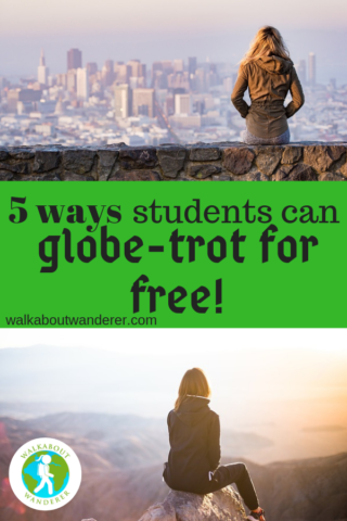 5 ways university students can globe trot for free