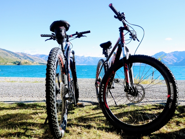 Bike rental wanaka bike tours New Zealand South Island