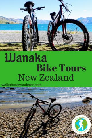 Wanaka Bike Tours: The best bike rental company in Wanaka New Zealand by Walkabout Wanderer
